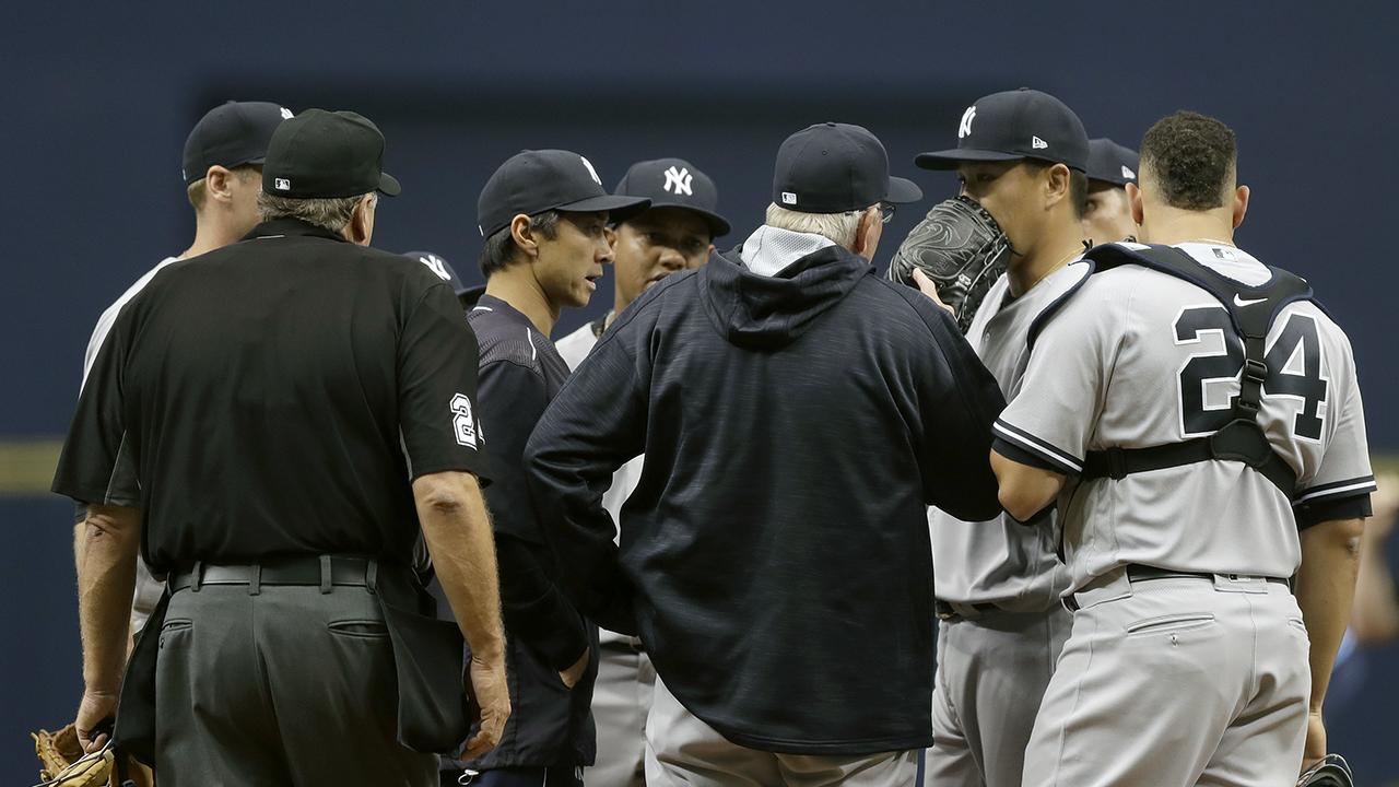 Tanaka fue bombardeado y los Yankees cayeron en el Día Inaugural